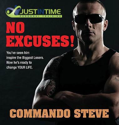 commando-steve-no-excuses-